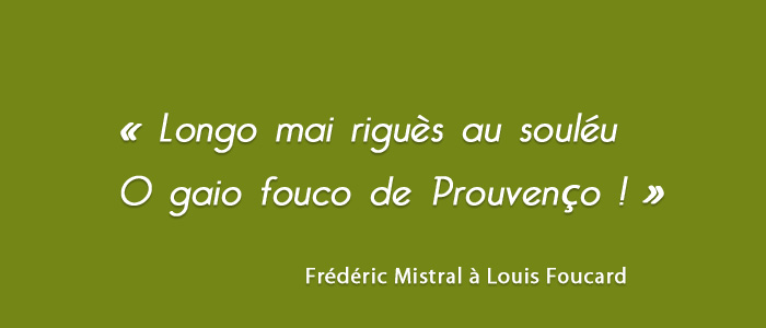 Citation de Frédéric Mistral